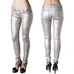 PERFECT FIT MY BFF JEGGING -CHROME