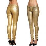 PERFECT FIT MY BFF JEGGING -GOLDRUSH